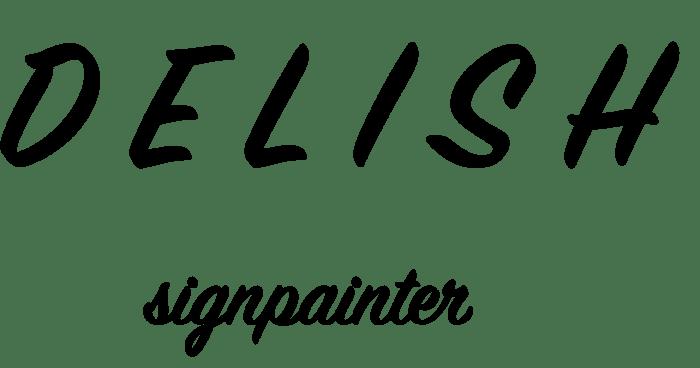 Signpainterdelish
